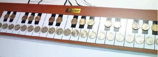 Сенсорное пианино